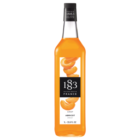 1 liter fles 1883 Routin abrikoos siroop